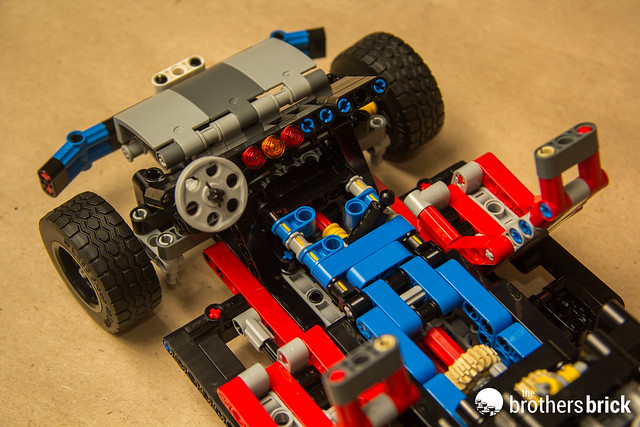 Lego Technic 40th Anniversary Car Chassis Review The