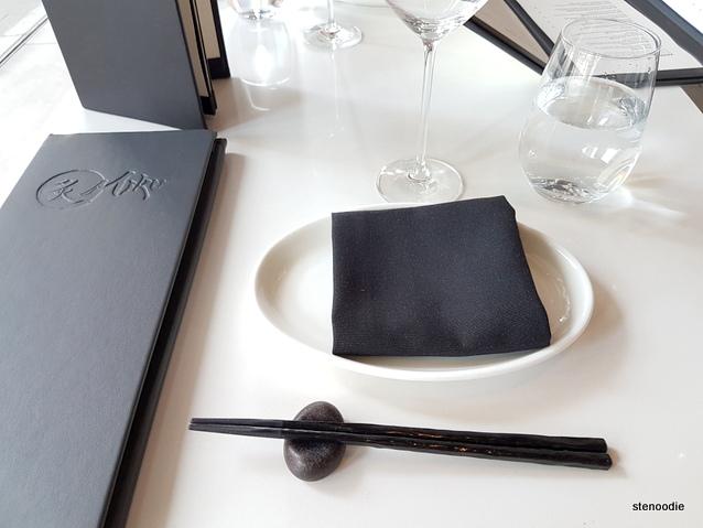 Miku Toronto table setting