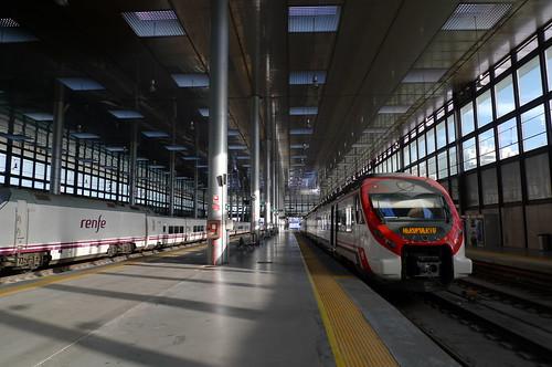 Train Station - Cadiz, Andalusia, Spain