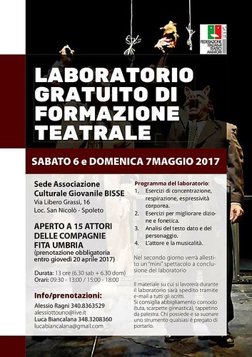 VOLANTINO LAB_ umbria | by Fita Teatro