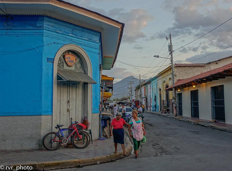 Calles de Granada, Nicaragua