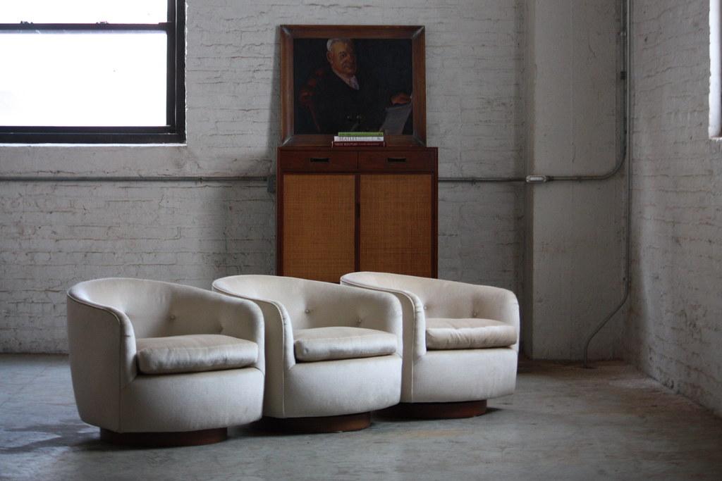 Ferocious Milo Baughman Mid Century Modern Swivel Rocker B… | Flickr