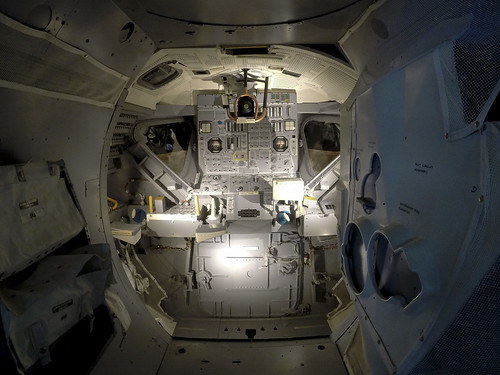 Lunar Excursion Module Interior Matt Gray Flickr
