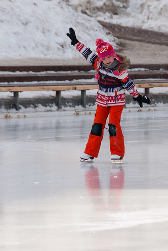 the joys of skating Join us for great skate day and discover the joy of gliding across ice.