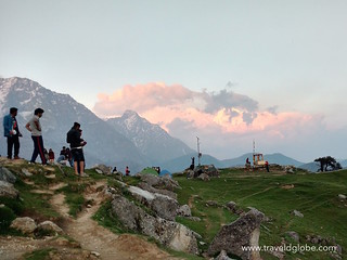Triund Hill View