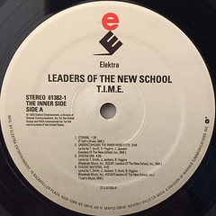 LEADERS OF THE NEW SCHOOL:T.I.M.E.(LABEL SIDE-A)