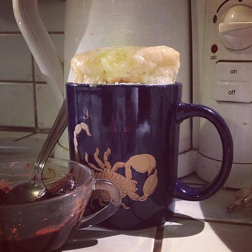 Mug Cake Chocolat Coeur Colant