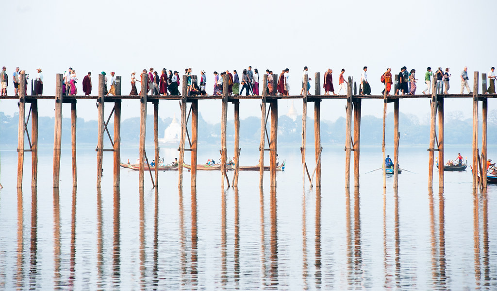 U Bein Bridge - Myanmar
