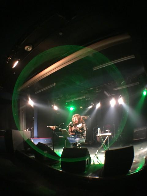 やまげん♪ live at 獅子王, Tokyo, 01 Mar 2017 - iphone photo