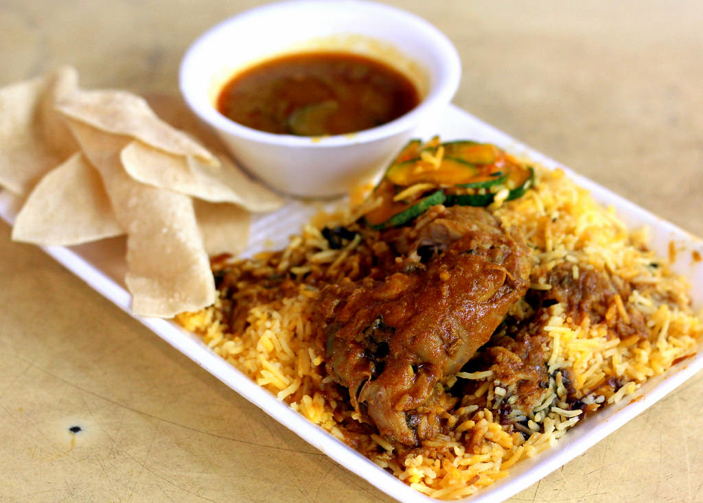 Hawker Centre in Singapore: Tekka Market & Food Centre Nasi Briyani