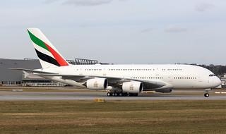 A380 Emirates A6-EUR MSN0232
