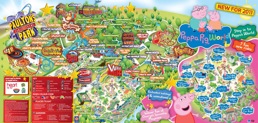 Paultons Park Map Paultons Park 2011 Park Map | Paultons Park 2011 Park Map | Flickr Paultons Park Map