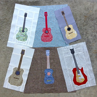 Ringo Pie guitar blocks so far | by quirky granola girl