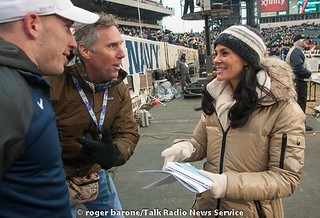 "2013 Army Navy Game Photos"" CBS SPORTS' SIDELINE REPORTER TRACY WOLFSON 