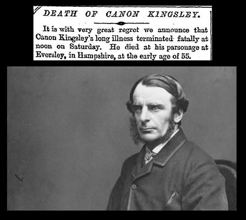 23rd January 1875 - Death of Charles Kingsley | by Bradford Timeline