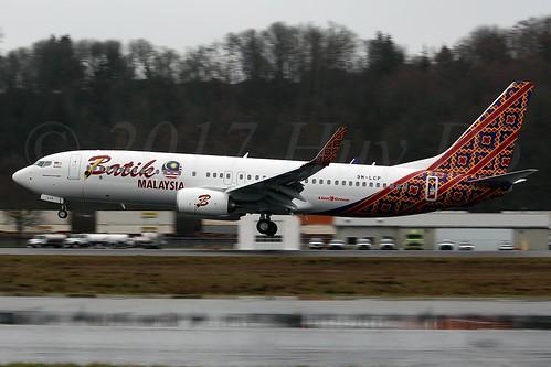 Boeing 737-8GP(WL) Batik Air Malaysia 9M-LCP