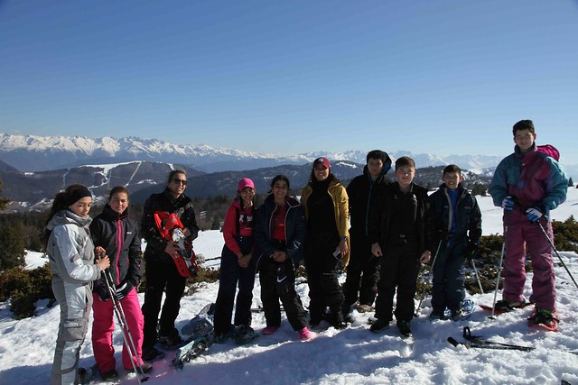 Le collège Georges Brassens a ouvert ses portes aux élèves pendant les vacances d'hiver