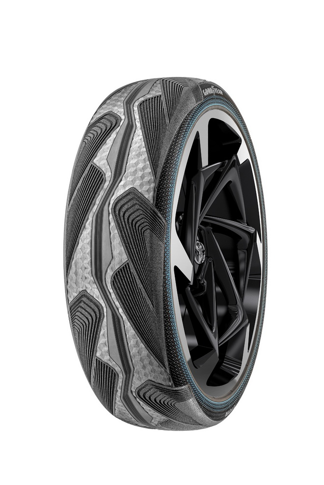Goodyear CityCube_Front Tire new
