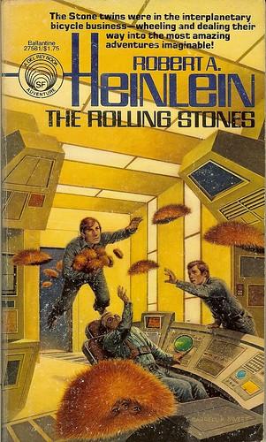 Rolling Stones - Robert A. Heinlein - cover artist Darrell Sweet