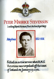 Stevenson, Peter Maurice (1920-1941) | by sherborneschoolarchives