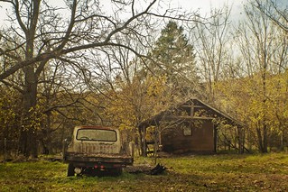 Old Truck And Shed | by Big Grey Mare