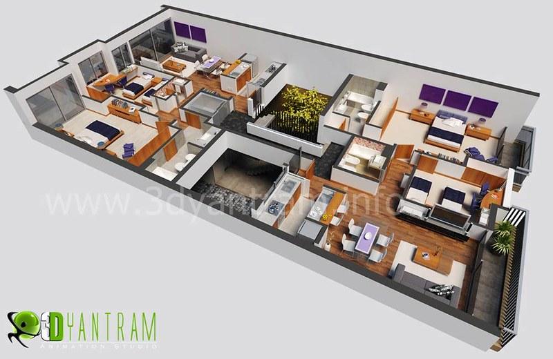 3D Floor Plan Design | Flickr Part 40