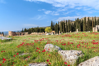Spring at Hierapolis-Pamukkale, Turkey (UNESCO world heitage site) | by Maria_Globetrotter