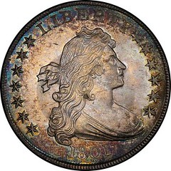 Amon Carter 1801 Dollar obverse - Copy
