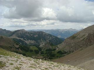 078 uitzicht bij tweede meer