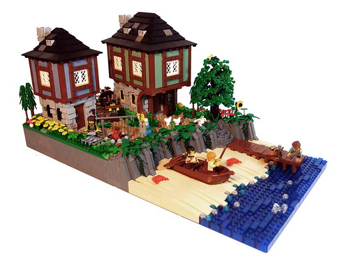 Coast of Northern Lake | by Lego_fan