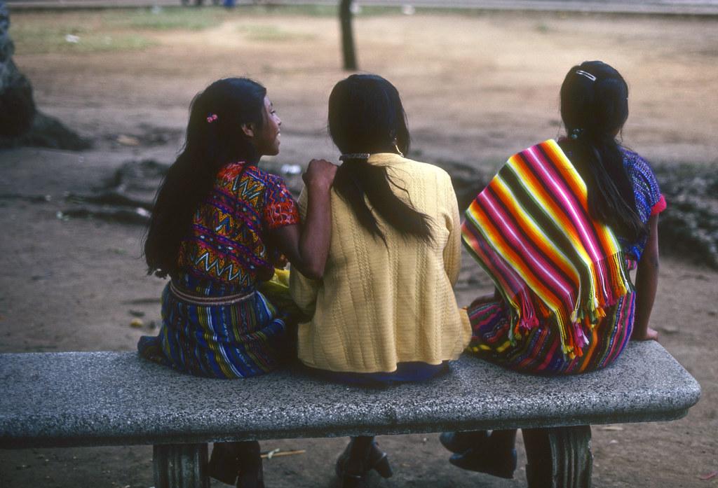 Tres Niñas, Guatemala, 1982, Scan-140314-0005 | by Marcelo  Montecino