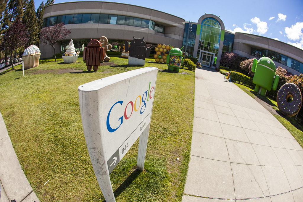 Elegant ... Android Garden   Google Mountain View Office | By Anthony Quintano
