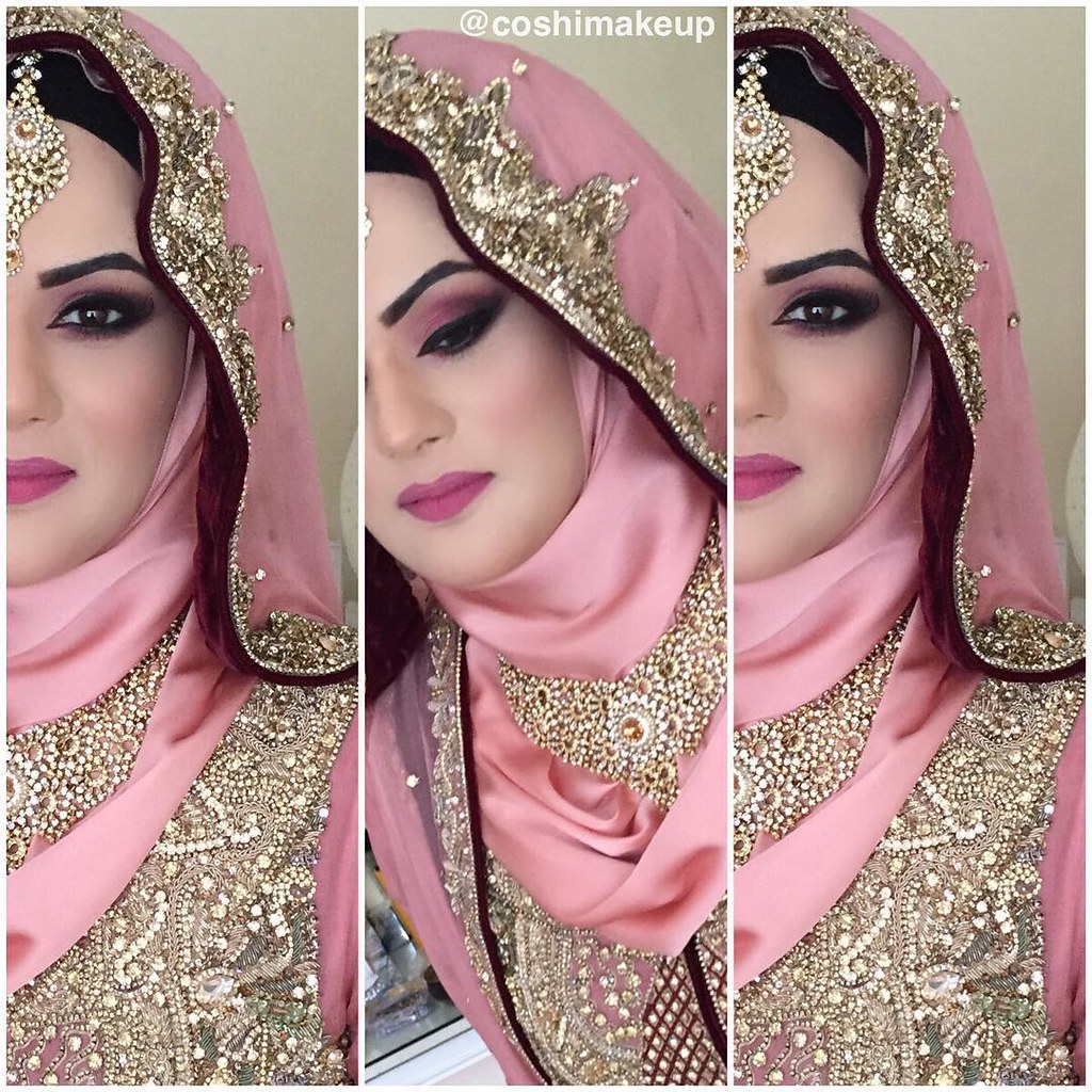 REALBRIDEwalima Bridal Hijab And Makeup From The Weekend By Coshimakeup