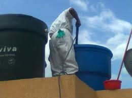 Hidro lavado e impermeabilizacion de tanque elevado