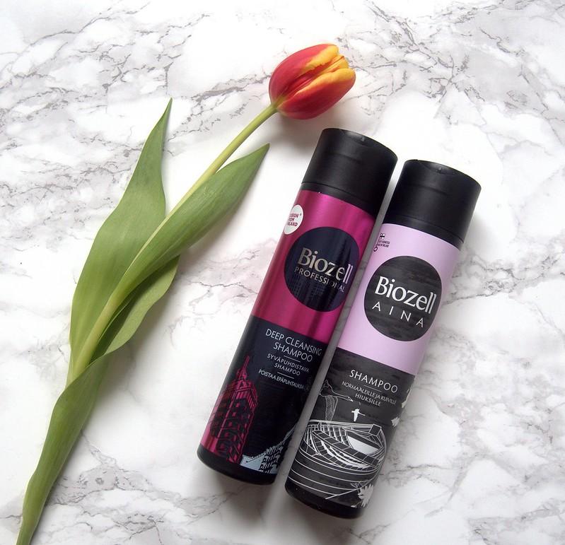 Biozell Syväpuhdistava shampoo