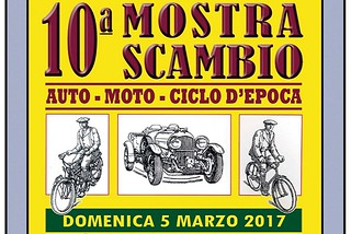 Noicattaro. Mostra scambio Moto Club Noja front