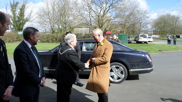 HRH The Prince of Wales visits Dewlay Cheesemakers