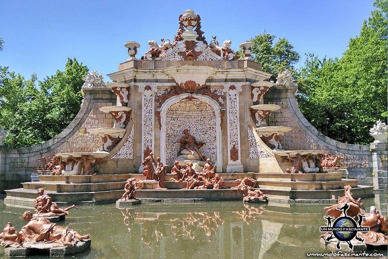 Baños de Diana. Reales Jardines del Palacio Real de la Granja de San Ildefonso. Segovia, Castilla y León. España.