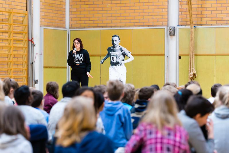 Paavo Nurmi Legacy project, Turku, FINLAND