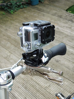 Go Pro go anywhere mount | by rosemarybeetle