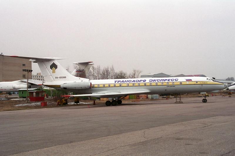RA-65088 Tupolev TU-134A-3 Transaero Express