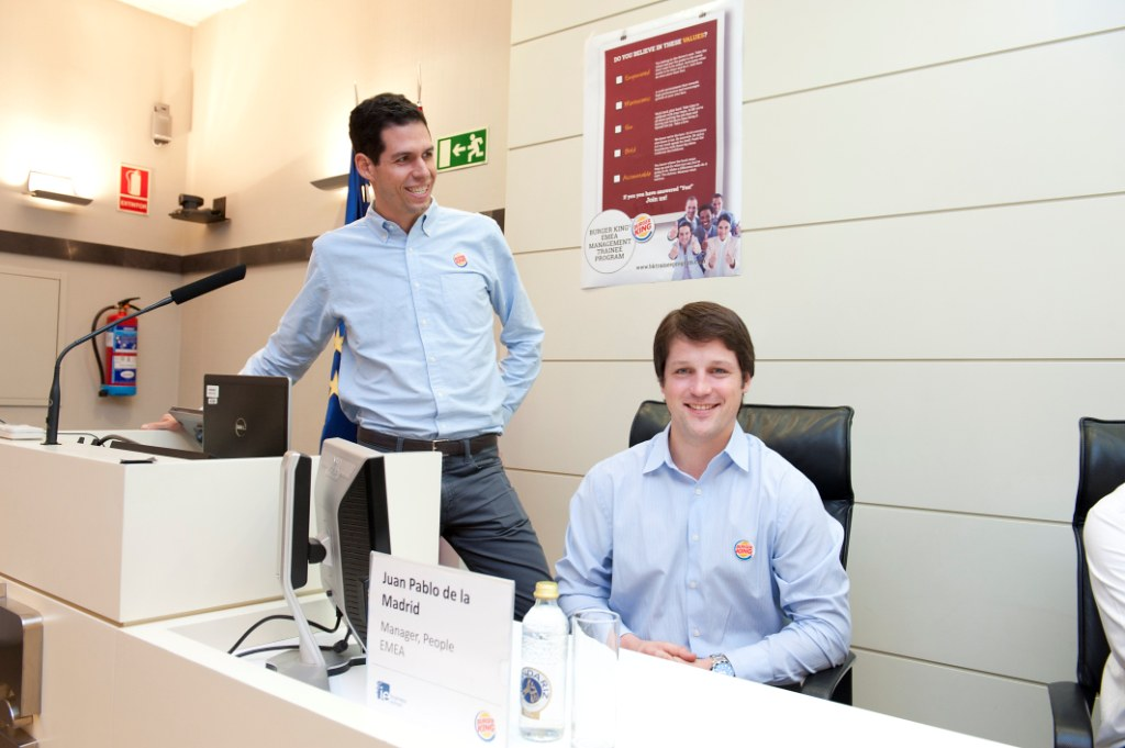 Burger King presents at IE its Management Trainee Program