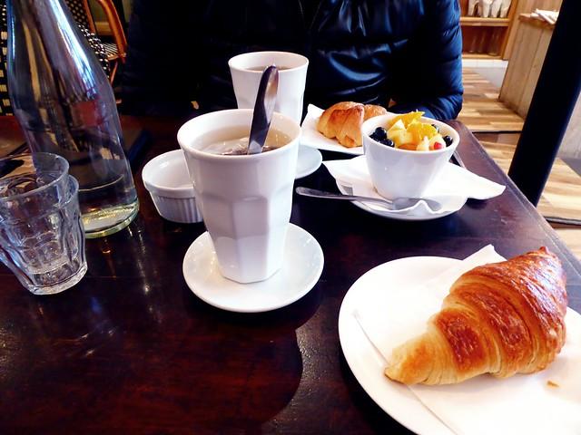 Parijs, ontbijt