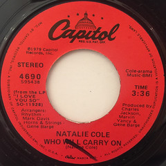 NATALIE COLE:STAND BY(LABEL SIDE-B)