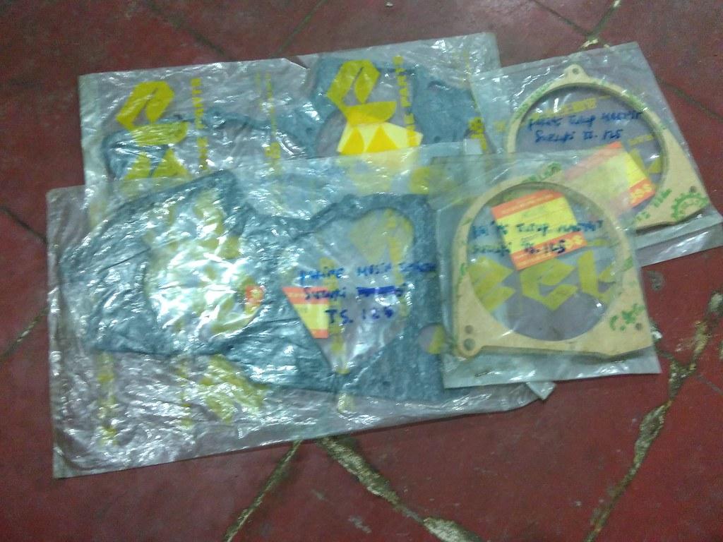 Paking Kalter Tengah Magnit Suzuki Ts125 Ori Nos Flickr Ts 125 By Tunggal Jaya Part