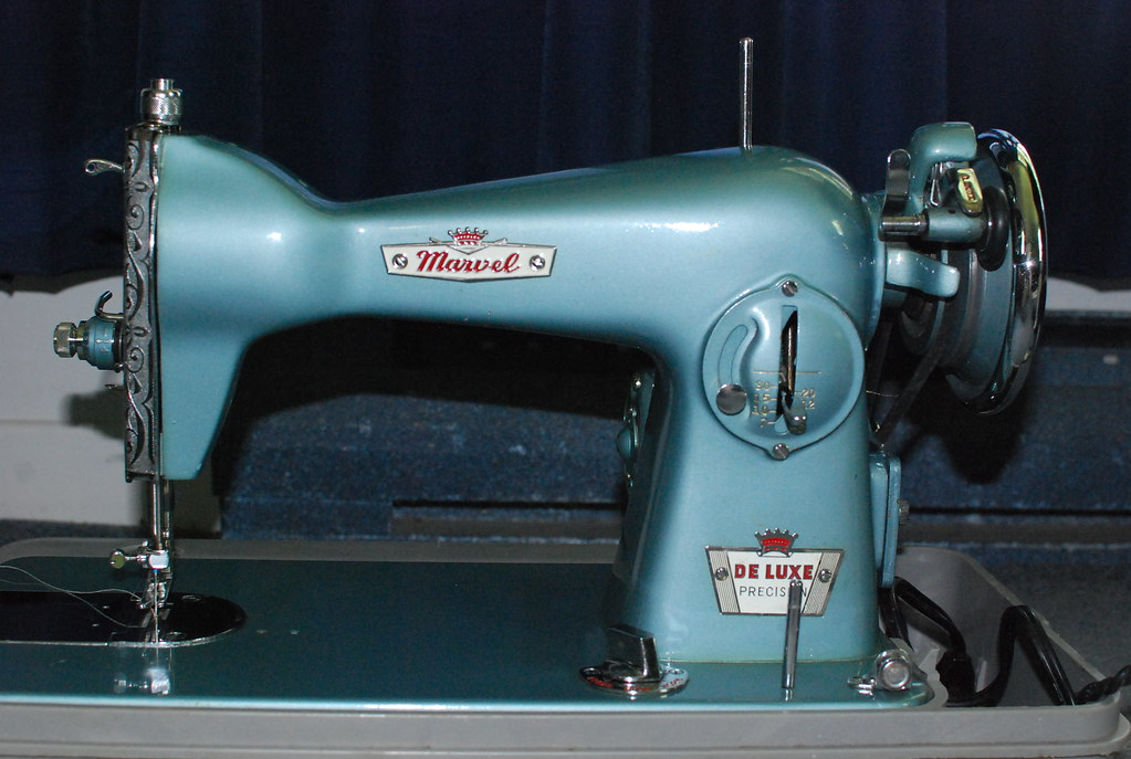 Marvel De Luxe Precision Sewing Machine Marvel De Luxe Pre Flickr New Marvel Sewing Machine