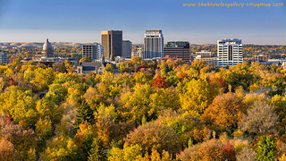 City of trees in full autumn color with the Capital | Flickr