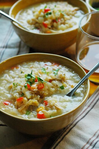 chicken and rice soup recipes | by The Adventure Bite