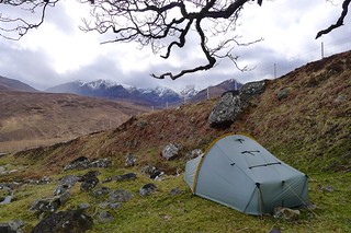 Wild camping above Coire Doe | by Nick Bramhall