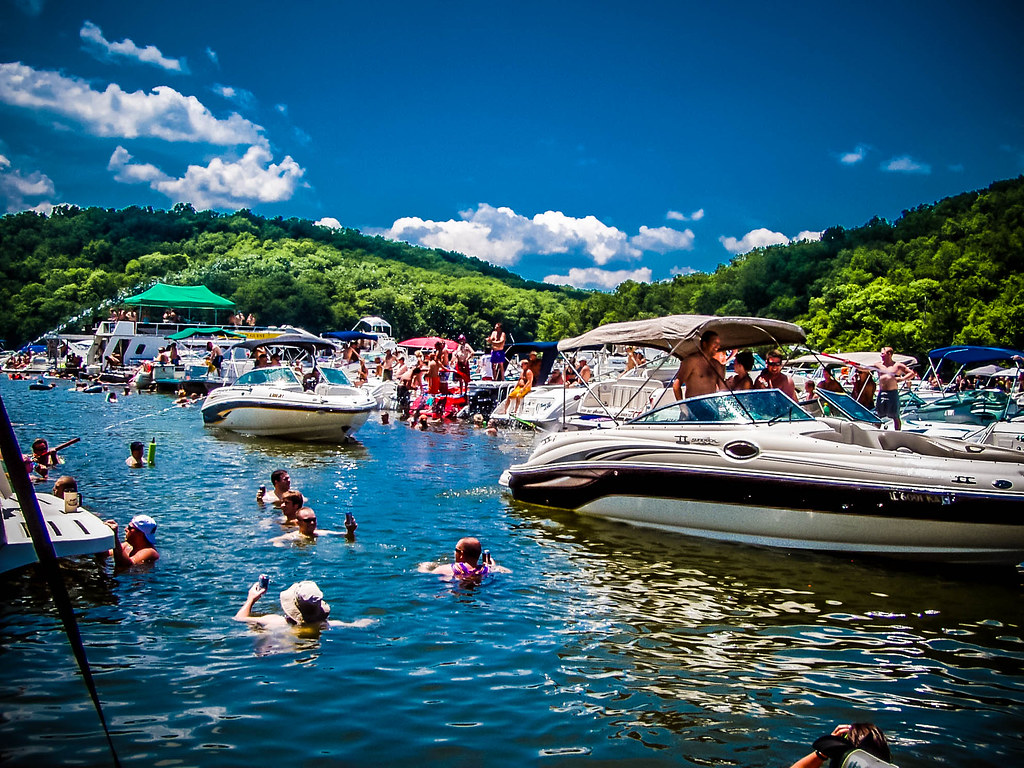 Lake ozarks party cove And